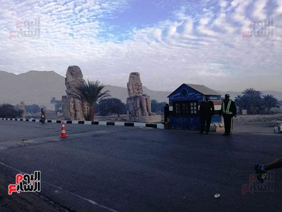 ماراثون مصر الدولى من أمام معبد حتشبسوت بالأقصر (7)