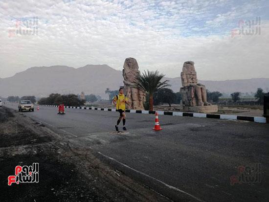 ماراثون مصر الدولى من أمام معبد حتشبسوت بالأقصر (4)