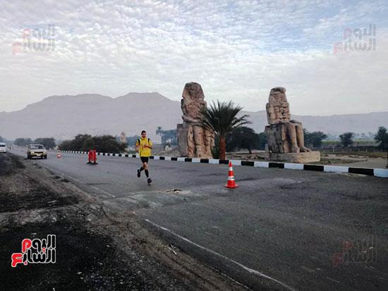 ماراثون مصر الدولى من أمام معبد حتشبسوت بالأقصر (10)