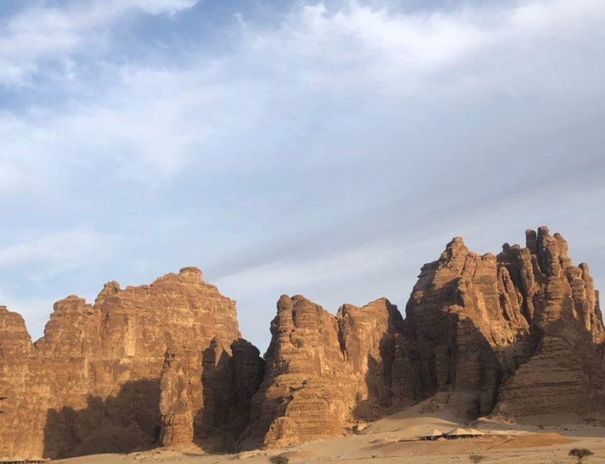مدائن صالح بالسعودية
