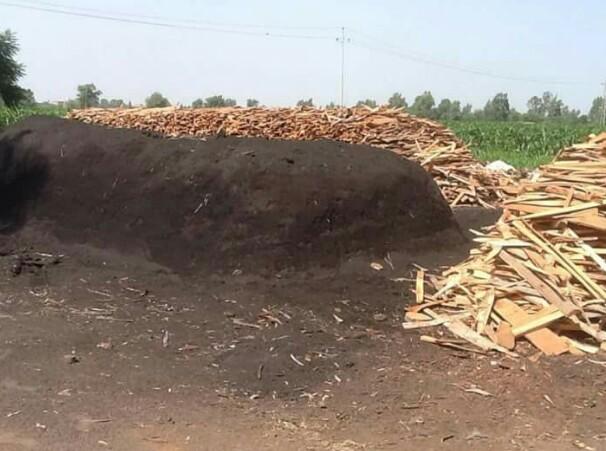 مكامير الفحم تهدد حياة أهالي السنطة