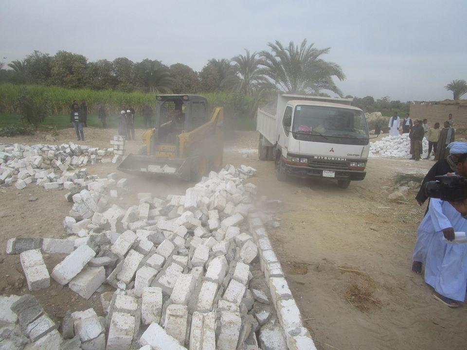رجال مدينة إسنا يزيلون 60 حالة تعدي علي الأراضي الزراعية خلال 48 ساعة (2)