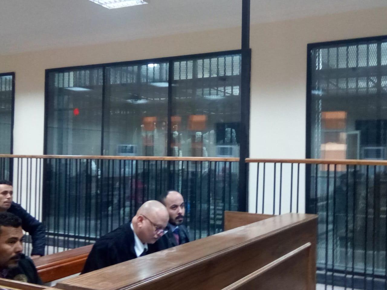 هيئة المحكمة برئاسة المستشار محمد سعيد الشربينى تفض احراز العائدون من ليبيا (8)