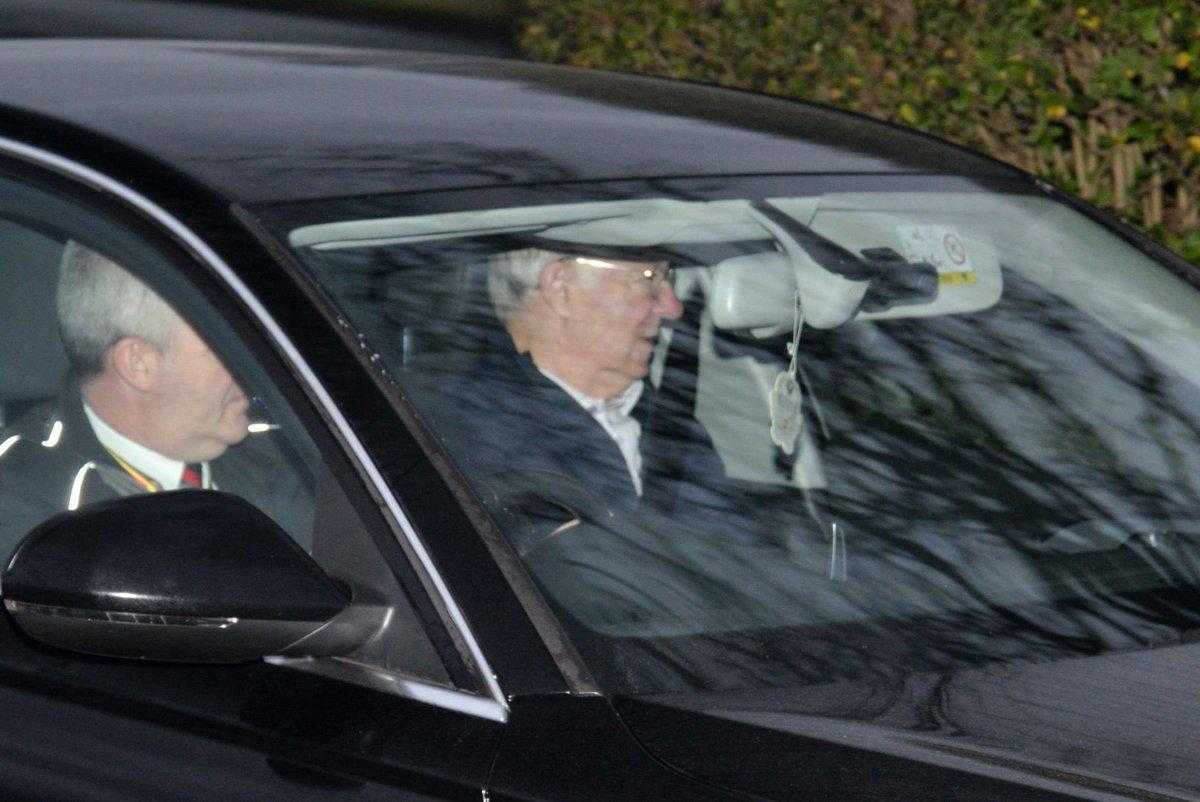 فيرجسون يصل مقر تدريبات مانشستر يونايتد