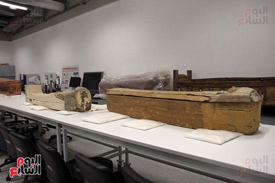 جولة لجنة الثقافة والإعلام والآثار بالبرلمان للمتحف المصري الكبير (35)