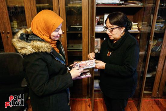 حوار  سميرة عبدالعزيز  (6)
