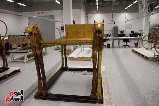 جولة لجنة الثقافة والإعلام والآثار بالبرلمان للمتحف المصري الكبير (37)
