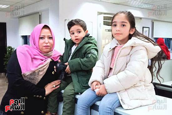 أسرة الشهيد مصطفى عبيد بندوة اليوم السابع (2)