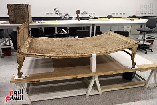 جولة لجنة الثقافة والإعلام والآثار بالبرلمان للمتحف المصري الكبير (40)