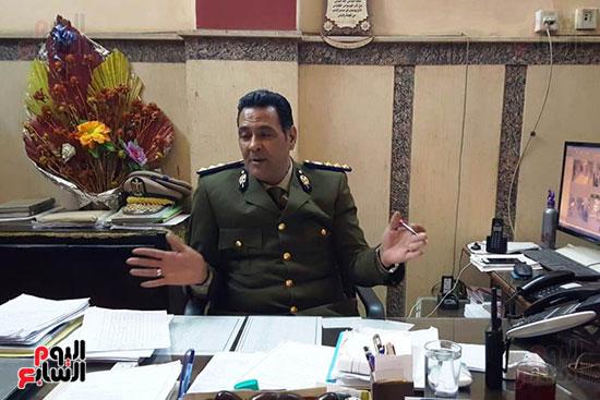 العميد حاتم الخشت مأمور قسم أول أسيوط (3)