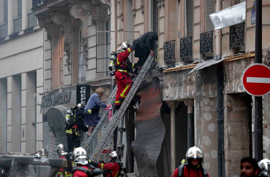 صور انفجار باريس (1)