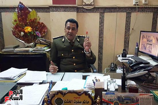 العميد حاتم الخشت مأمور قسم أول أسيوط (6)