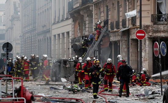 صور انفجار باريس (2)