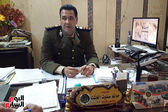 العميد حاتم الخشت مأمور قسم أول أسيوط (7)