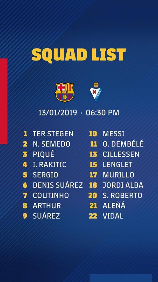 ميسي يتصدر قائمة برشلونة