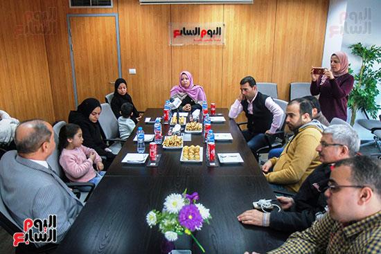 أسرة الشهيد مصطفى عبيد بندوة اليوم السابع (6)
