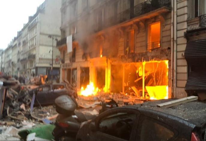 انفجار فرنسا
