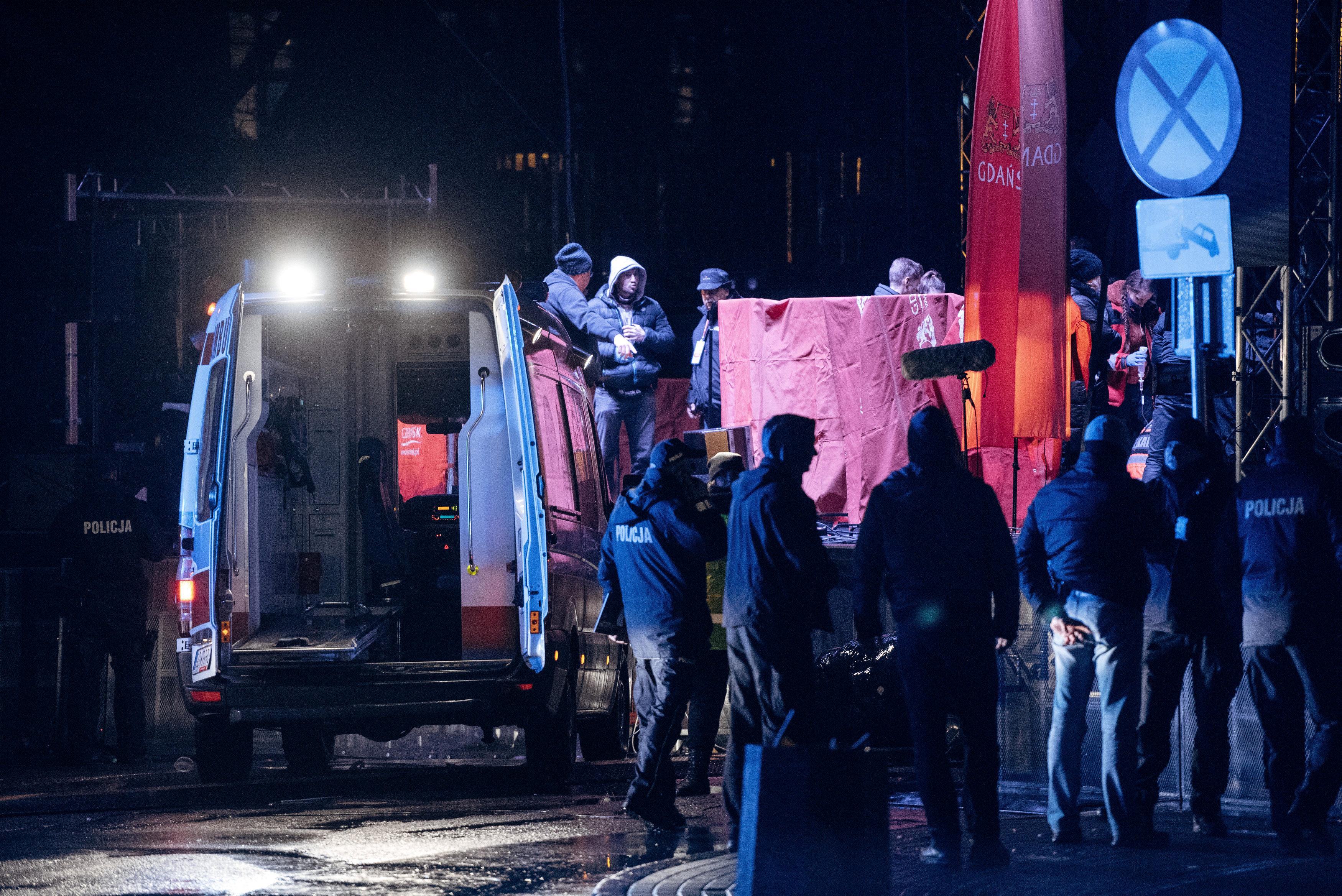 الشرطة بموقع الحادث