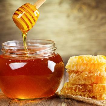 العسل الخام