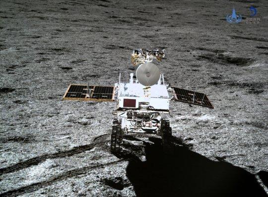 China publica nuevas fotos del lado oscuro de la luna - Día 7