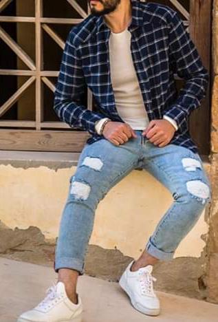أزياء الرجال - الكاروهات (2)