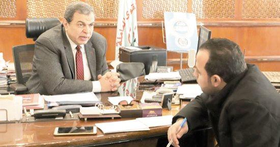 محمد سعفان أثناء حديثة لـ«اليوم السابع»