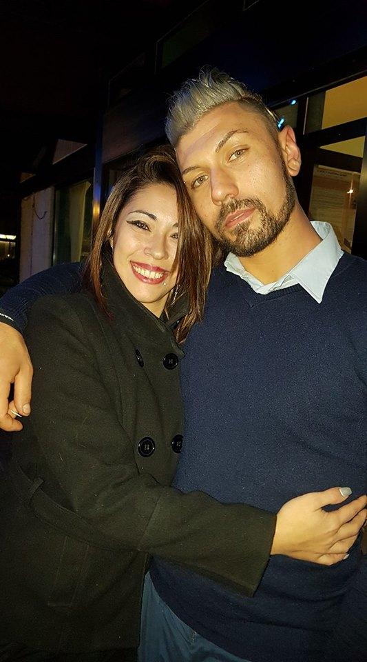 الإيطالية وزوجها
