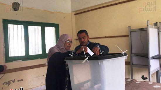 انتخابات تكميلية هادئة بالعريش (5)