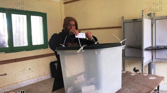 انتخابات تكميلية هادئة بالعريش (8)