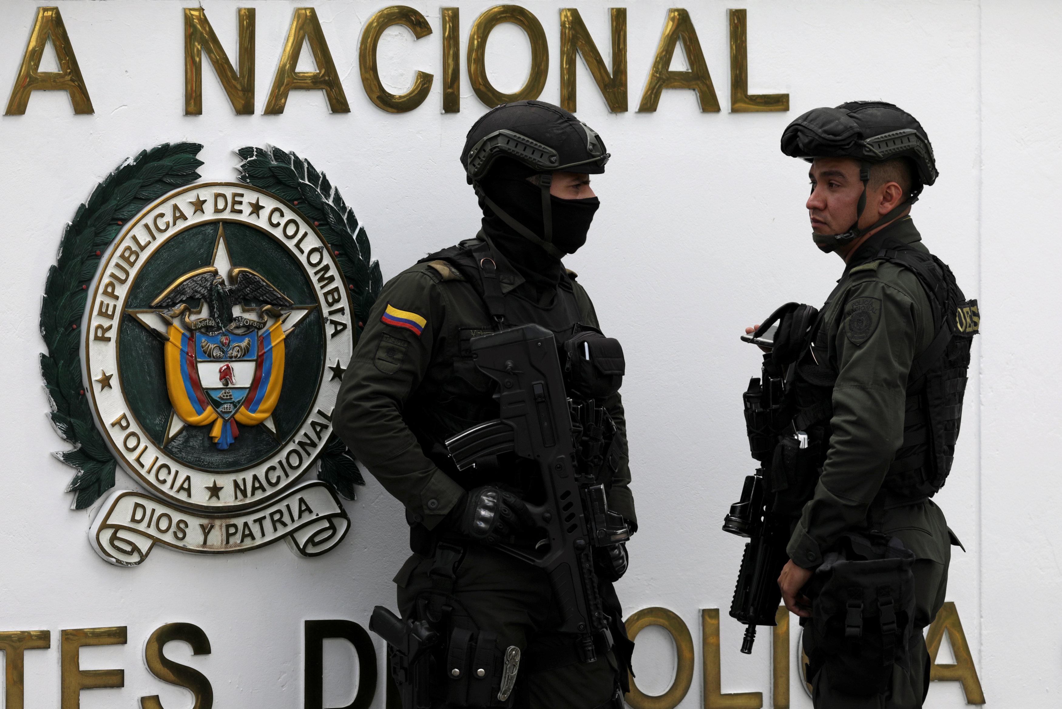 الشرطة الكولومبية