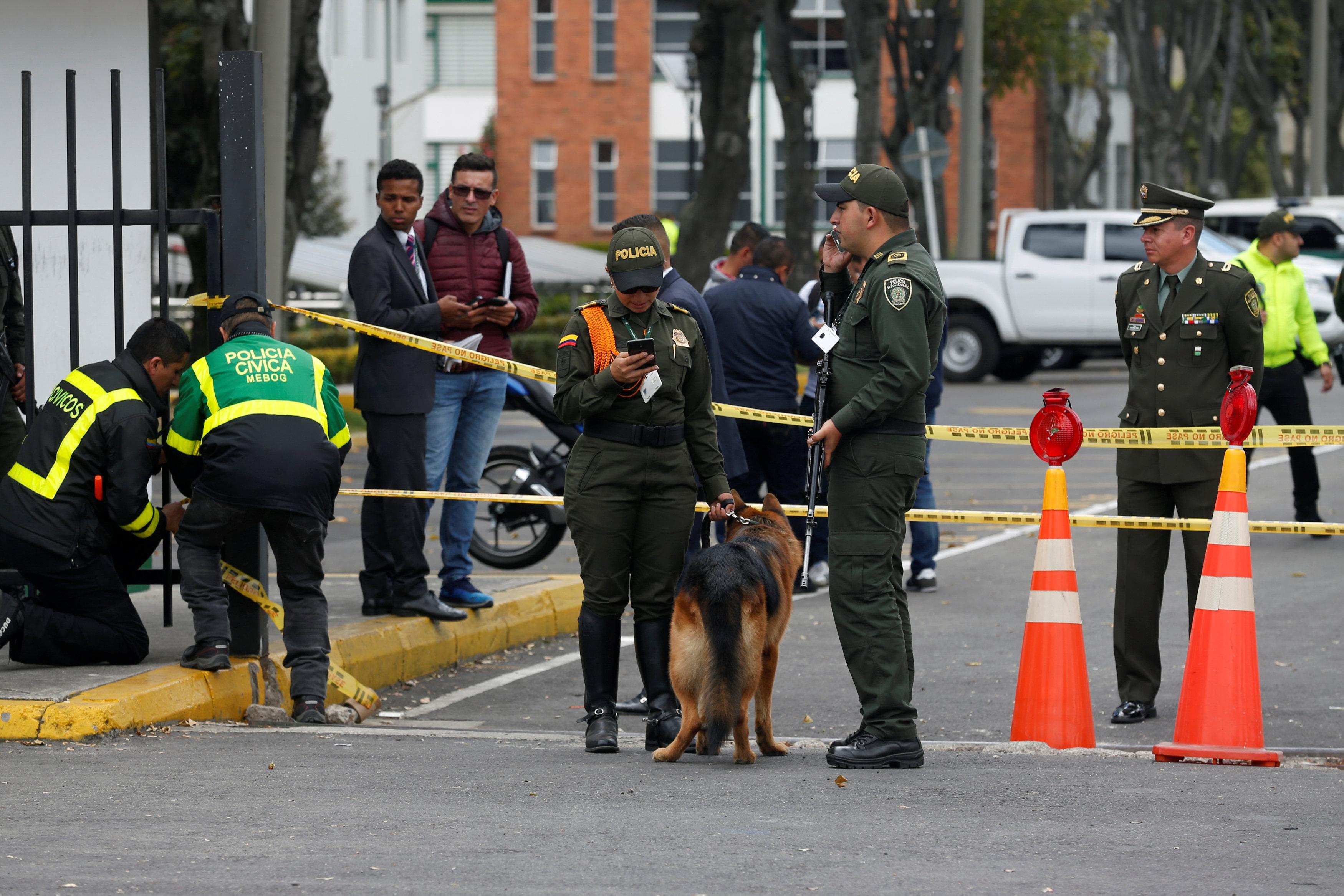 شرطة كولومبيا