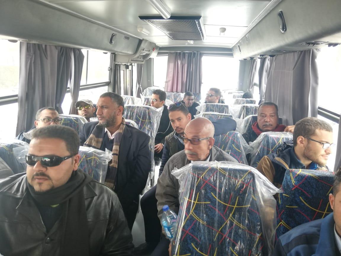 بدء التشغيل التجريبى لمنظومة النقل الداخلي بمدينة القاهرة الجديدة (2)