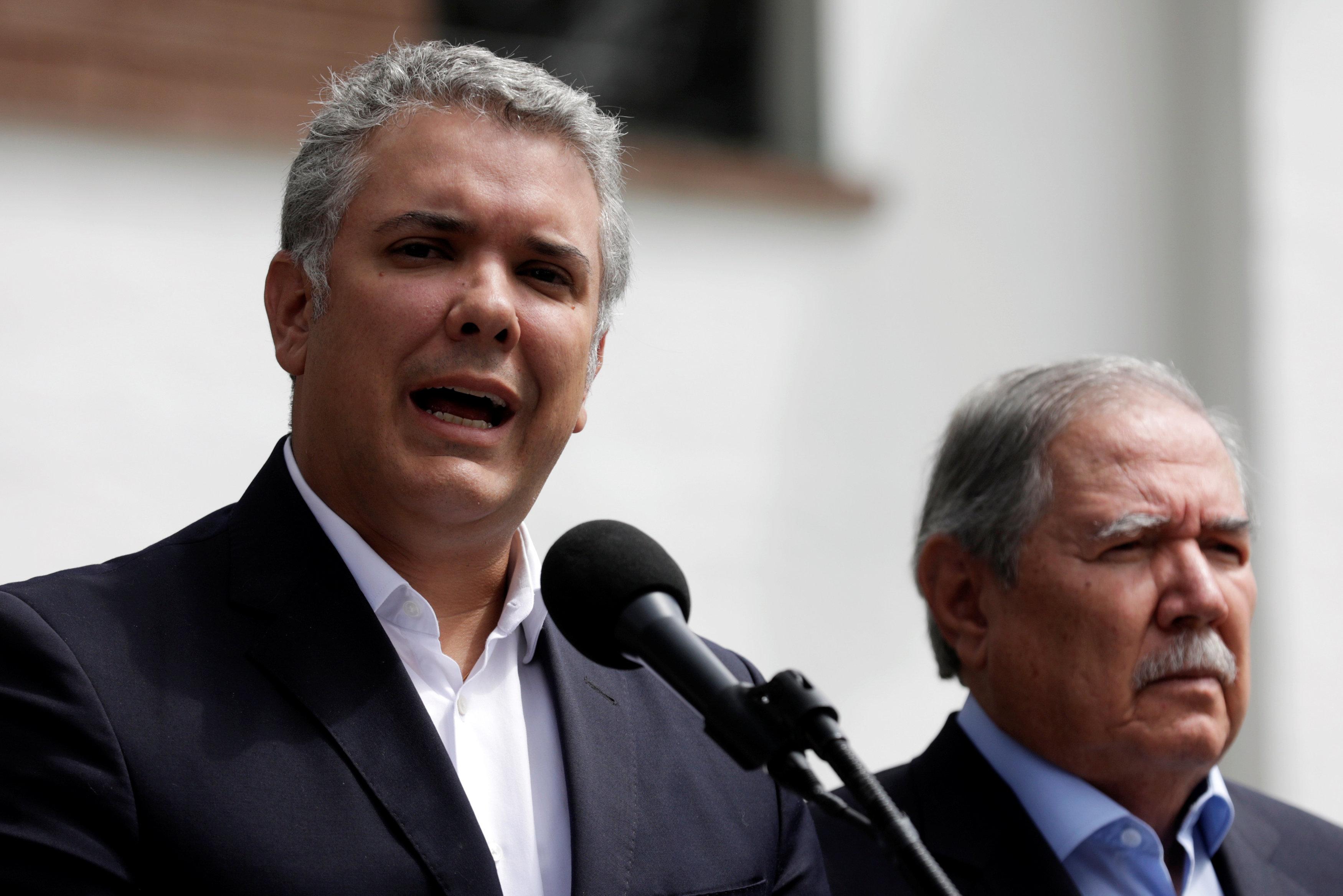 رئيس كولومبيا