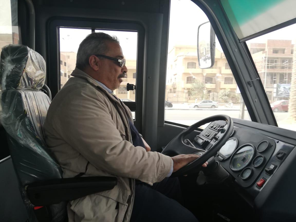 بدء التشغيل التجريبى لمنظومة النقل الداخلي بمدينة القاهرة الجديدة (6)