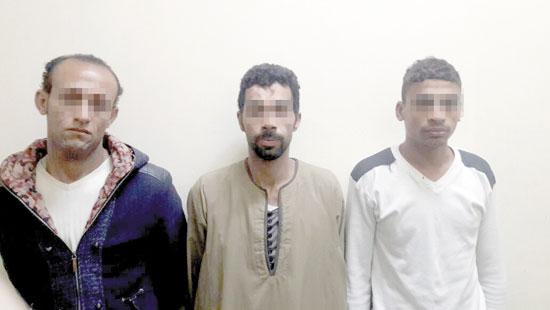 المتهمين بقتل المجنى عليه الصادر ضدهم حكم الإعدام