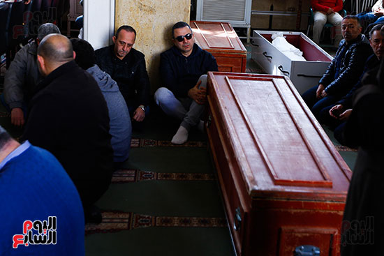 جنازة الفنان الراحل سعيد عبد الغنى (1)