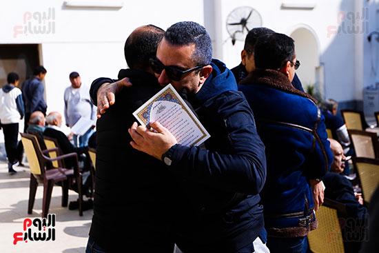 جنازة الفنان الراحل سعيد عبد الغنى (20)