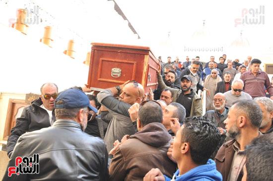 تشيع جثمان الفنان سعيد عبد الغنى (6)