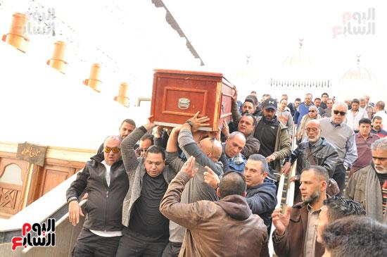 تشيع جثمان الفنان سعيد عبد الغنى (4)