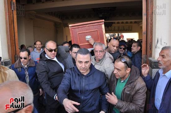 تشيع جثمان الفنان سعيد عبد الغنى (8)