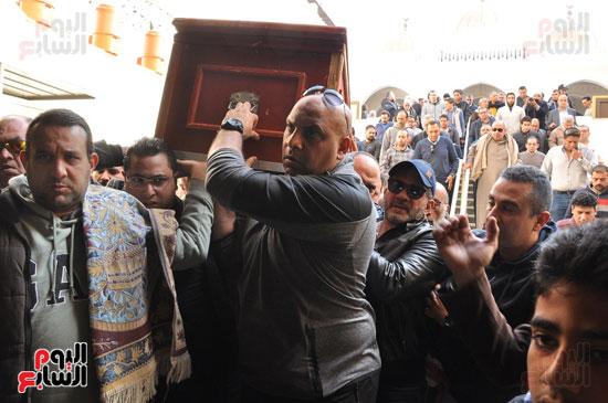 تشيع جثمان الفنان سعيد عبد الغنى (7)