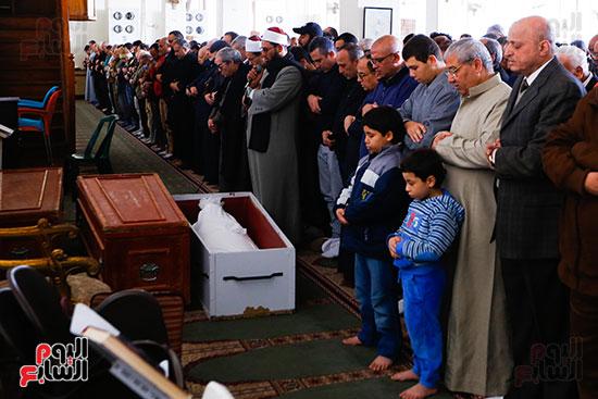 جنازة الفنان الراحل سعيد عبد الغنى (3)