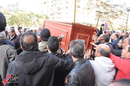 تشيع جثمان الفنان سعيد عبد الغنى (11)