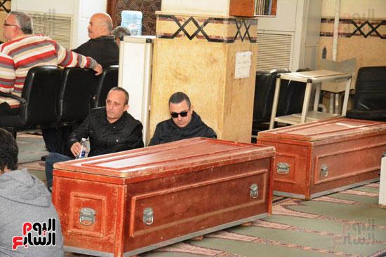 تشيع جثمان الفنان سعيد عبد الغنى (18)
