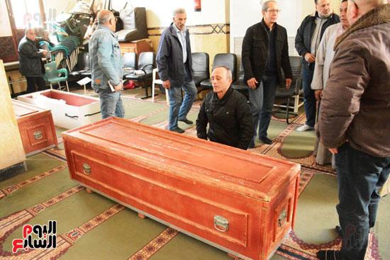 تشيع جثمان الفنان سعيد عبد الغنى (19)
