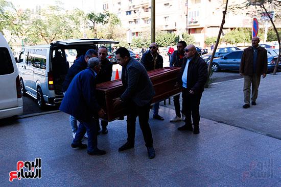 جنازة الفنان الراحل سعيد عبد الغنى (12)