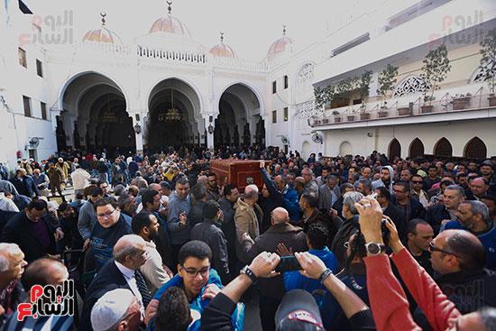 جنازة الفنان الراحل سعيد عبد الغنى (4)