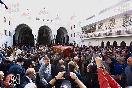 جنازة الفنان الراحل سعيد عبد الغنى (5)