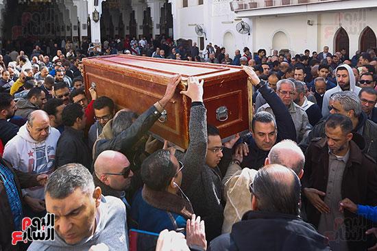 جنازة الفنان الراحل سعيد عبد الغنى (6)