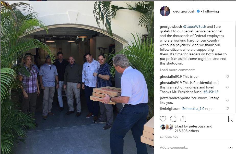 تدوينة جورج بوش